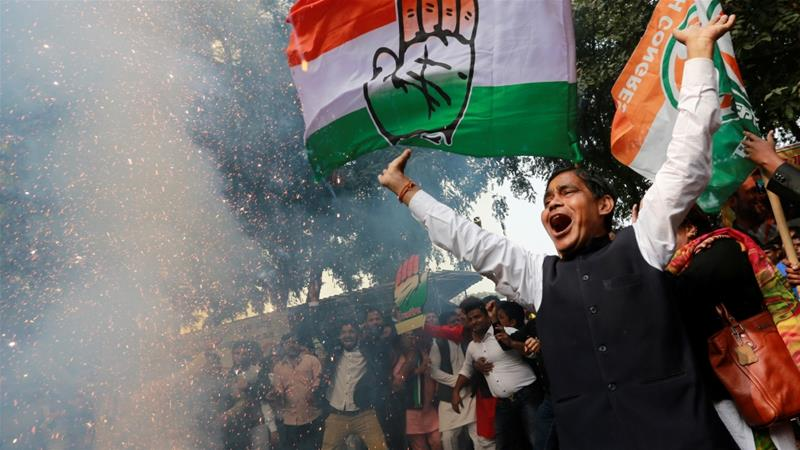 India's ruling BJP loses three crucial states in regional elections