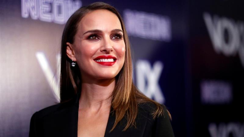 Film actress Natalie Portman