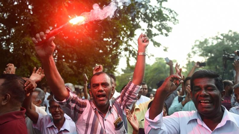 Sri Lanka Parliament passes vote of confidence on ousted PM