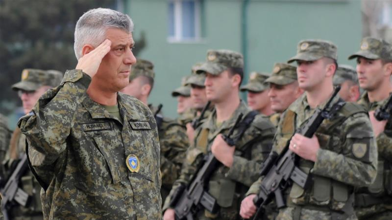 Kosovo Pushes Ahead to Form Army, Raising Stakes in Balkans