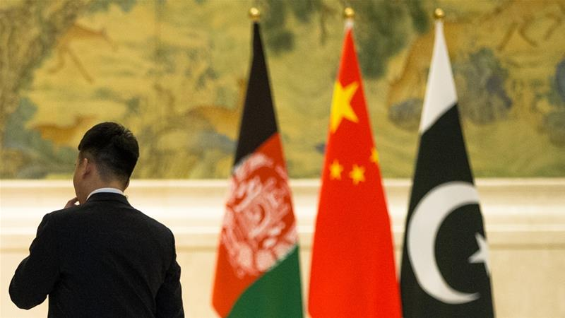 Afghanistan hosts talks with Pakistan and China