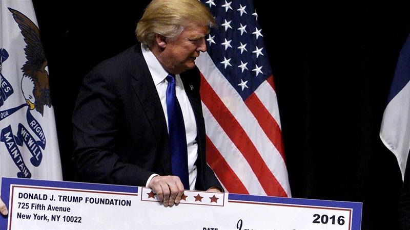Trump Foundation to shut down amid lawsuit against the charity
