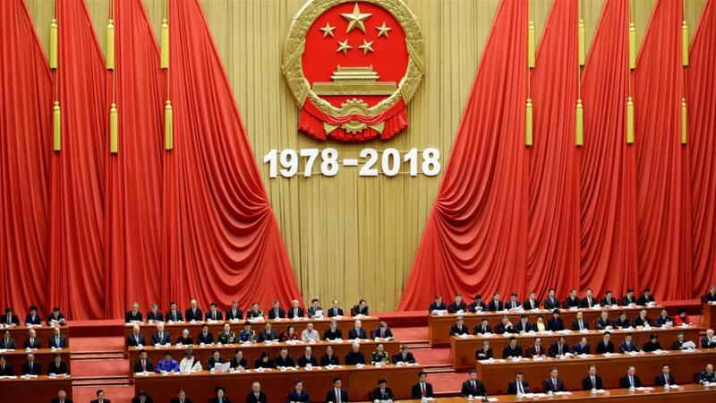 Marking 40 years of reform, Xi says China won't be dictated to