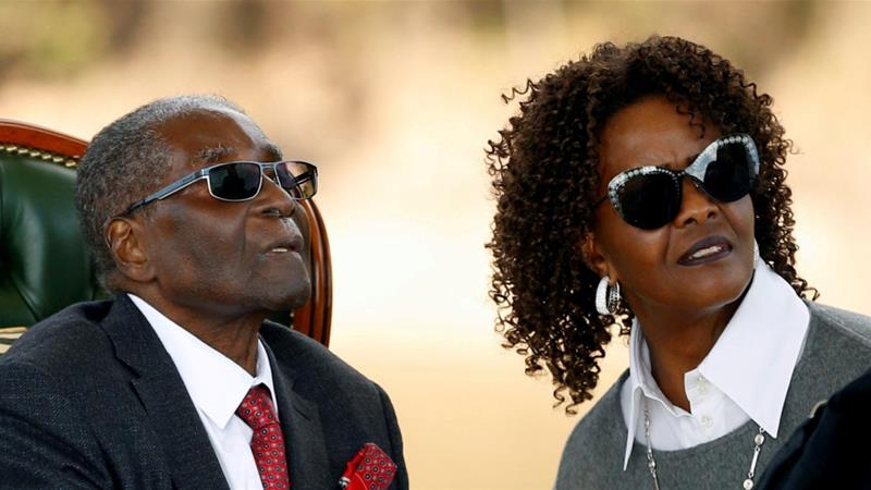 Arrest warrant issued for Grace Mugabe, says AfriForum