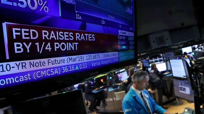 Image result for federal reserve interest rates hike