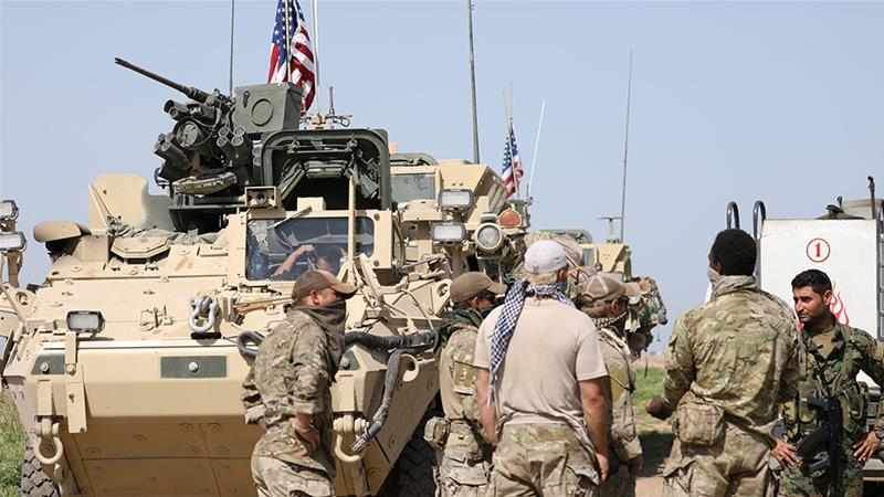 USA weighing complete withdrawal of troops from Syria