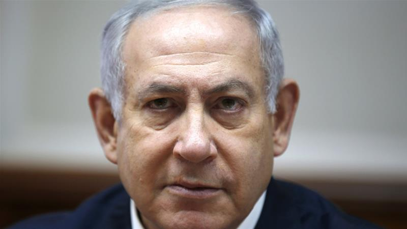 Israeli Prime Minister Benjamin Netanyahu has denied any wrongdoing [Ronen Zvulun/AP Photo]