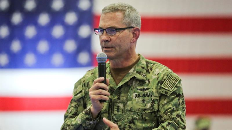 US Navy's Middle East chief found dead in Bahrain