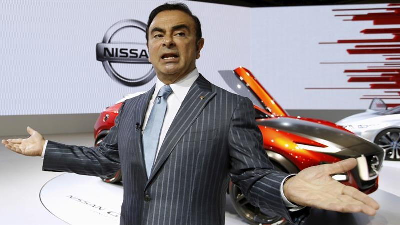 Carlos Ghosn told a court this week he was innocent of the charges against him [File: Toru Hanai/Reuters]