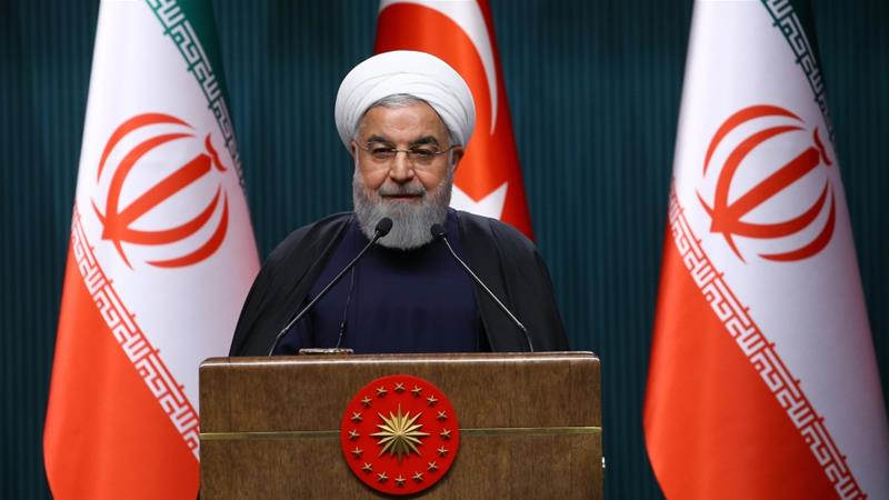 President Hassan Rouhani said Iran, Turkey and Russia will continue with the Astana negotiations on Syria's future [Anadolu Agency]