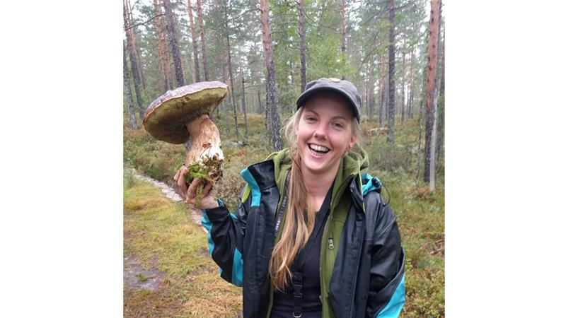 One of the victims, Norwegian Maren Ueland, 28, poses in this undated photo [Private Handout/NTB Scanpix/via REUTERS]