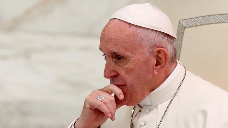 Pope Francis tells clerics who abuse minors to hand themselves in