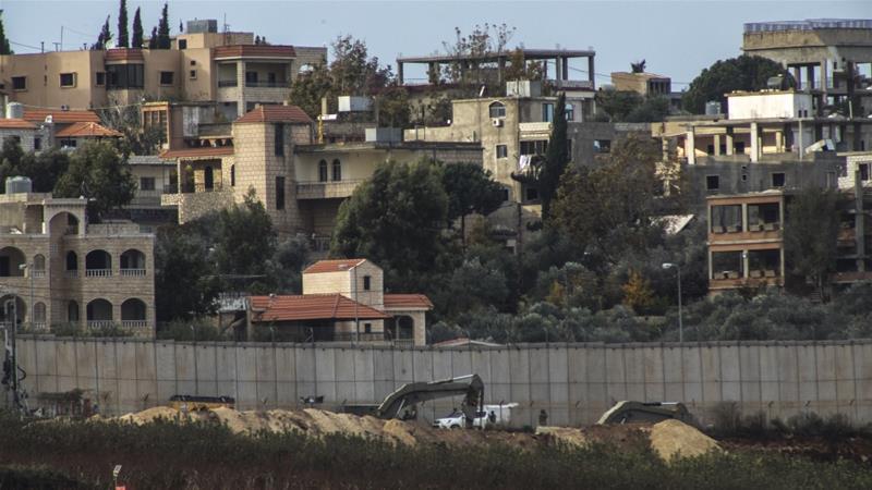 Lebanon's border tense as Israel excavates 'Hezbollah tunnels
