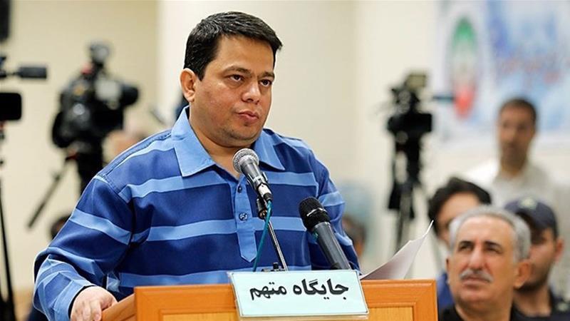 Hamidreza Baqeri Dermani was sentenced for fraud, bribery and creating fake companies [IRNA]