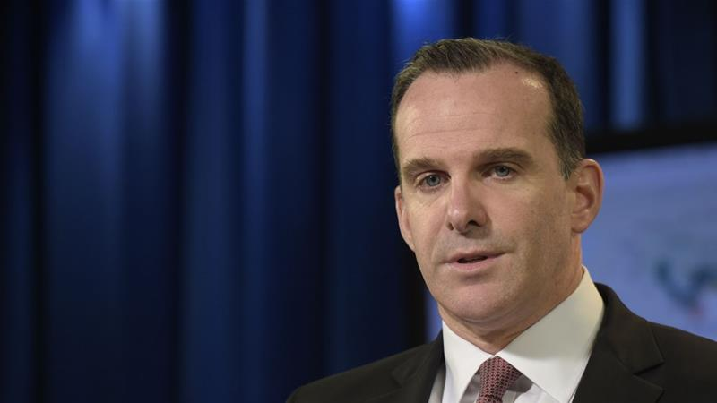 McGurk's resignation is effective on December 31 [File: Susan Walsh/AP Photo]