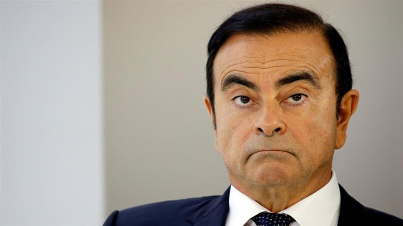 Carlos Ghosn, ex-chairman of Nissan will be spending Christmas and the beginning of 2019 behind bars [File: Regis Duvignau/Reuters]