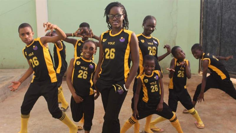 Using dance to get Nigeria's street kids back in school