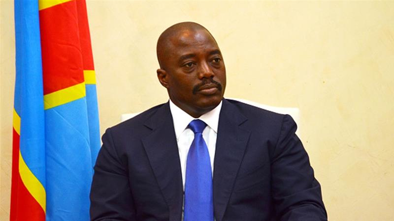 If Sunday's vote goes according to plan, Kabila will step down [Tutondele Mianken/AFP/Getty Images]