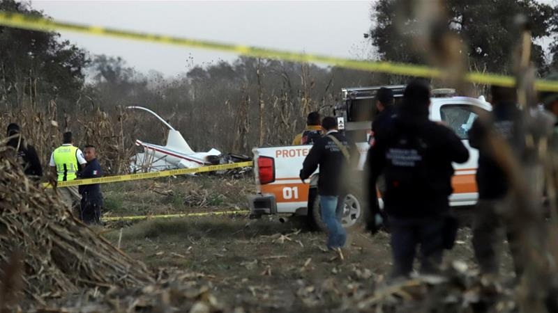 Mexican governor and husband killed in helicopter crash