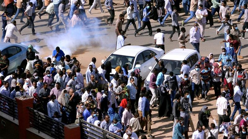Is it Sudan's version of the Arab Spring?