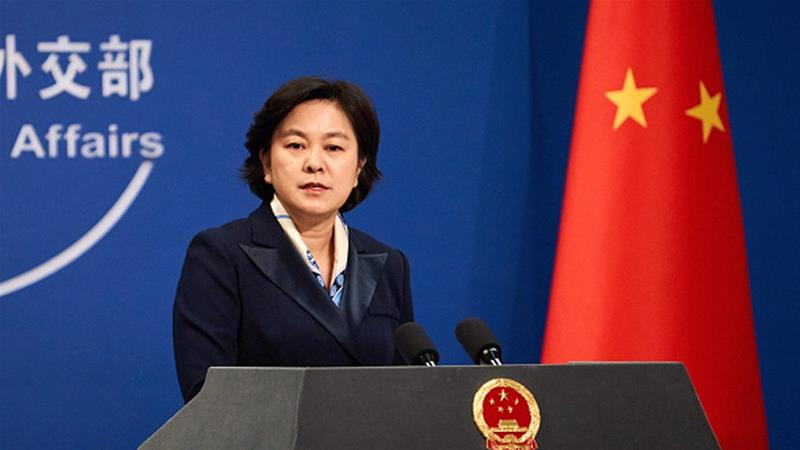 Chinese Foreign Ministry spokesperson Hua Chunying said that China had repeatedly made its 'solemn' stance clear to Canada [Artyom Ivanov/TASS via Getty Images]
