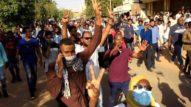 Image result for anti-government protests, sudan, pictures