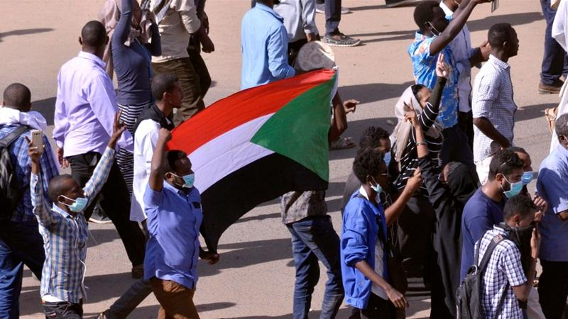 The protests that began across much of Sudan on December 19 turned into a call for President Bashir to step down [Reuters]