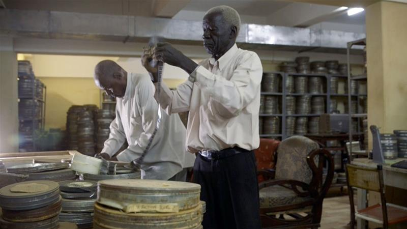 The film follows the journey of two Sudanese men as they work to rescue the African nation's film archive [Al Jazeera]