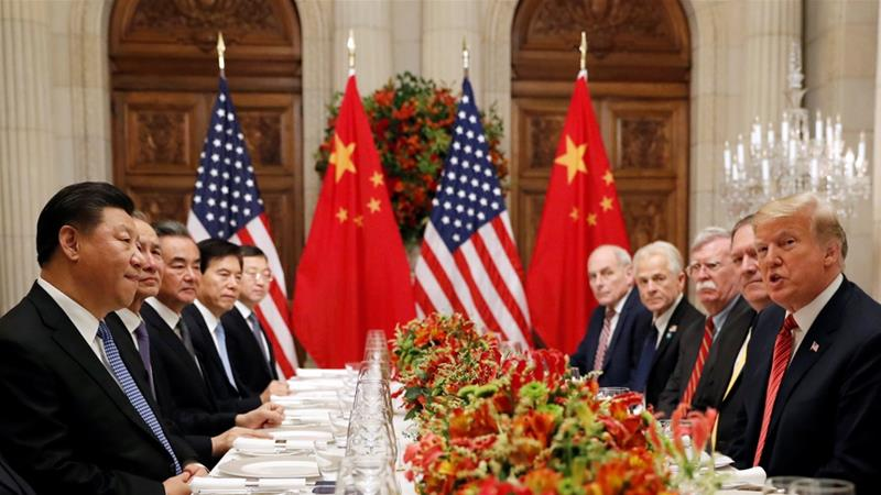 Trump, Xi sit down to dinner at G20 to discuss trade war