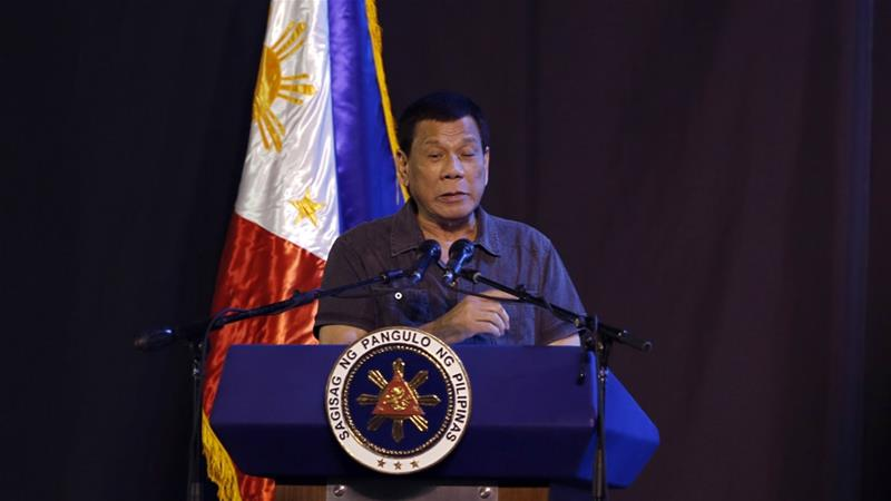 Philippine President Rodrigo Duterte 'jokes' about cannabis use