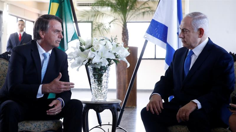 Iran denounces Brazil's plan to move embassy to Jerusalem