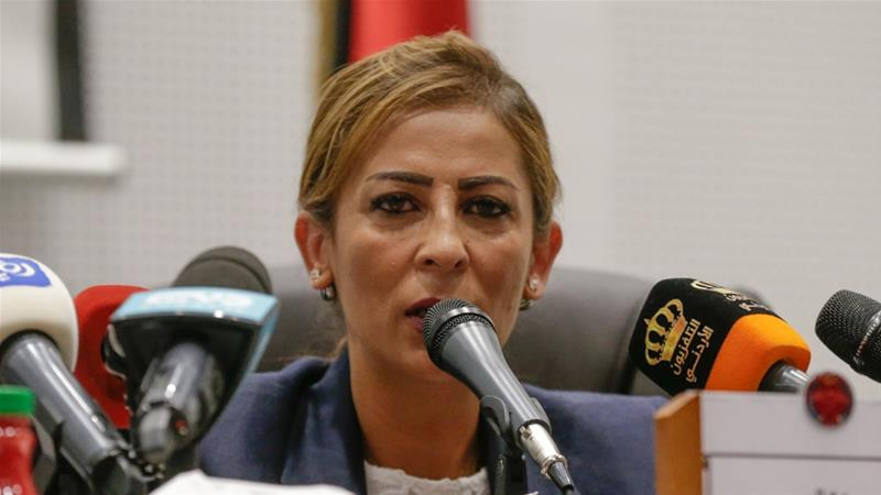 Jumana Ghuneimat has not yet issued a public statement on the incident [File: Andre Pain/EPA]