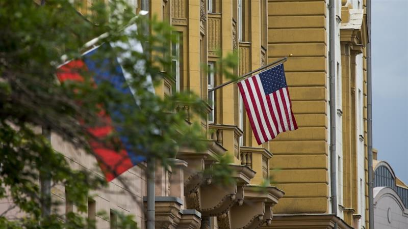 Russia's relations with the US have soured since Moscow annexed the Crimean peninsula from Ukraine in 2014 [Alexander Zemlianichenko/AP]