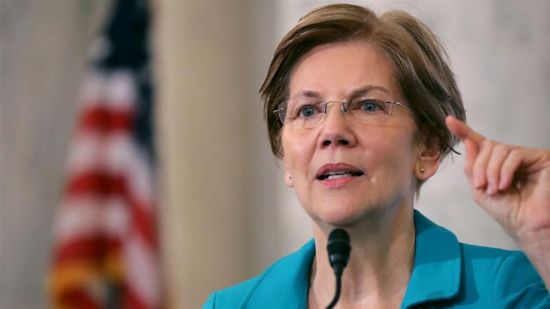 One of Elizabeth Warren's most significant competitors could be Bernie Sanders [Chip Somodevilla/Getty Images/AFP]