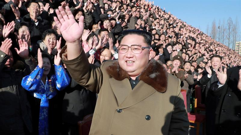 The economy is seen by analysts as Kim's main concern [KCNA via Reuters]