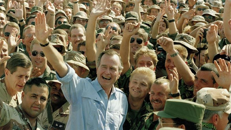 The Bush Legacy In The Gulf Us Canada Al Jazeera