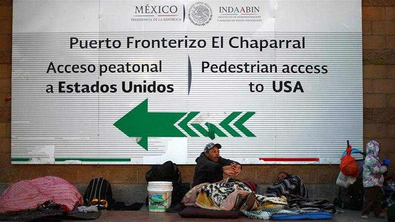 Hunger-striking asylum seekers call for faster border processing