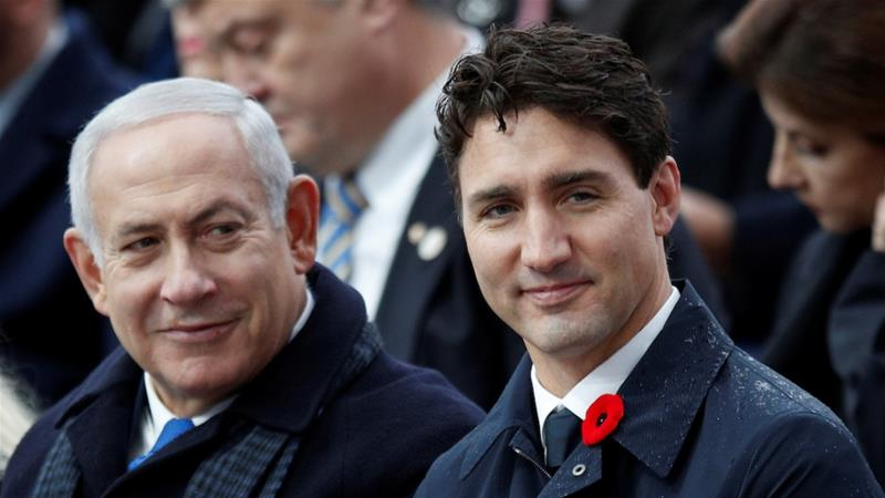Seemingly more decent and trustworthy politicians like Trudeau are in fact more dangerous to a decent human life on earth than obnoxious loud mouths like Trump or Netanyahu, writes Dabashi. [Reuters]