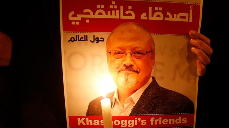 Saudi journalist Khashoggi was murdered inside the Saudi consulate in Istanbul on October 2 [Lefteris Pitarakis/AP]