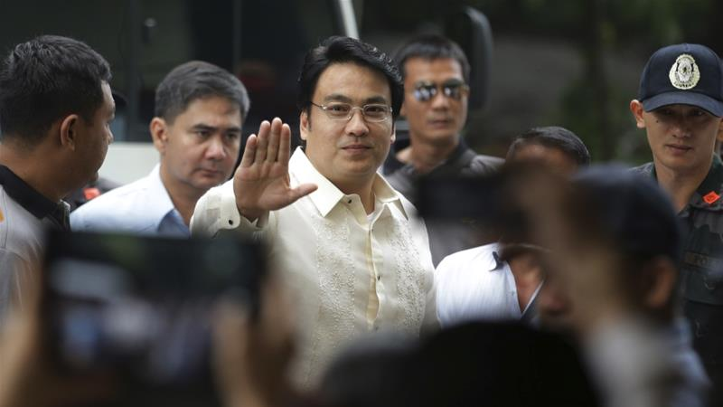 Revilla is accused of embezzling over $4m in public funds from 2004 to 2013 [File: Aaron Favila/AP]