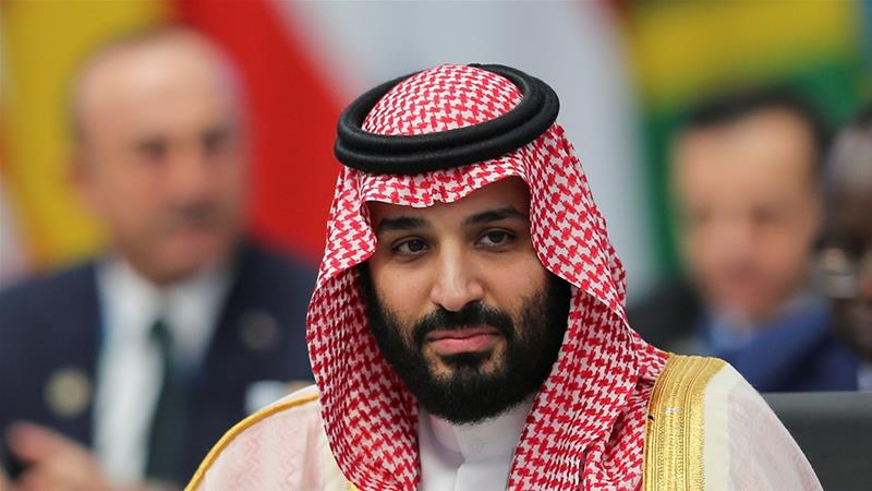 The resolution urges the US government to hold the crown prince accountable for a number of actions [Sergio Moraes/Reuters]