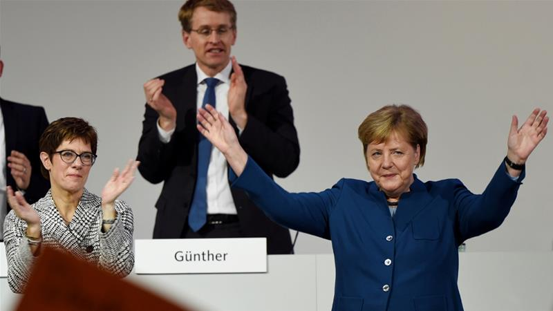 Germany's conservative CDU party to vote on Merkel's successor
