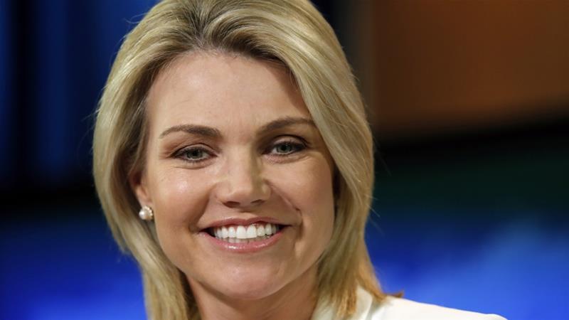 Trump 'to pick Heather Nauert as US ambassador to UN'