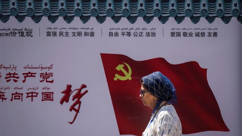 Last month, China passed a law to 'Sinicize' Islam and make it 'compatible with socialism' [Getty Images]