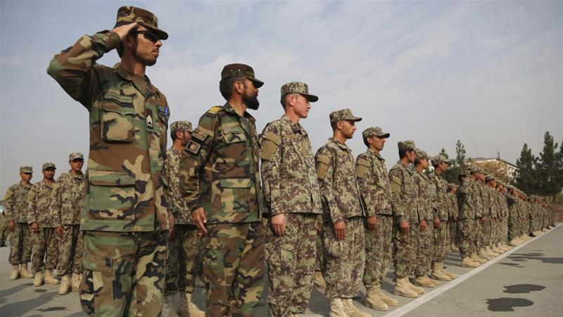 Afghan Solrs Killed In Coordinated Taliban