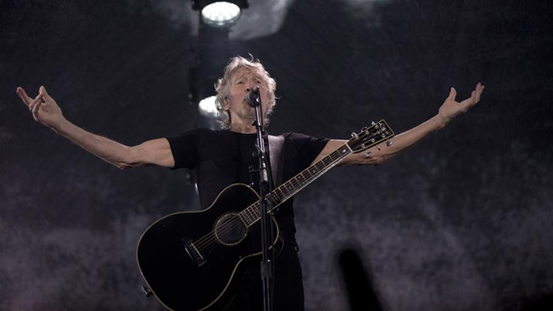 Waters said he was 'aghast' that a Pink Floyd cover band had scheduled gigs in Israel [Silvia Izquierdo/AP Photo/]