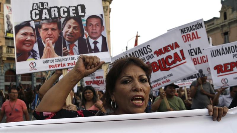 Peruvians vote in referendum on fighting corruption