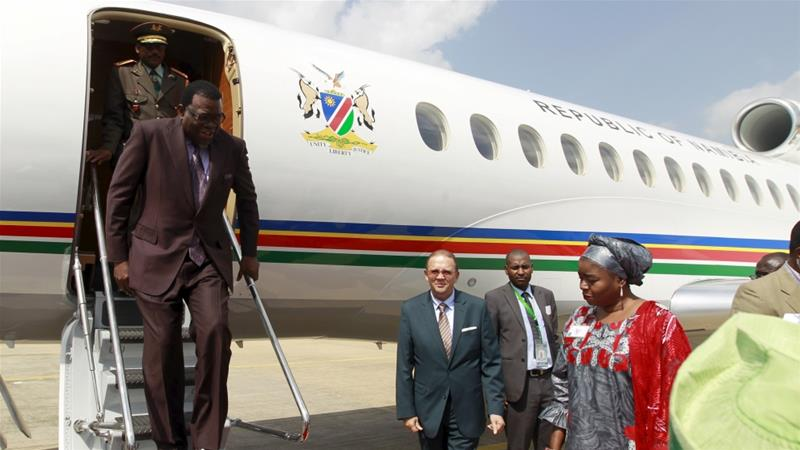 Namibia bans foreign travel for government officials