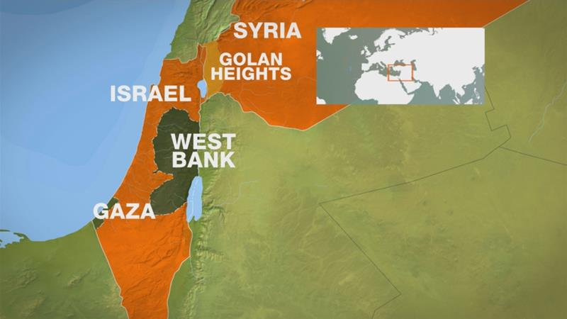 Israel Launches Airstrikes In Syria After Fighter Jet Crashes