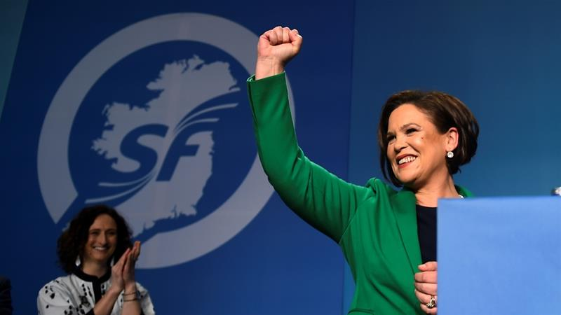 Mary Lou McDonald takes over as Sinn Fein leader
